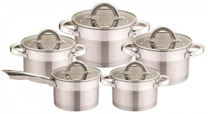 Набор посуды 10 предметов Bohmann BH-007-10, фото 2