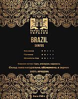 Кофе в зернах Santos Brazil, 1 кг