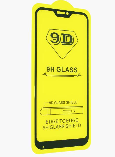 Защитное стекло 9D Xiaomi Redmi 6 Pro / Xiaomi mi A2 lite полная проклейка твёрдость 9H захисне скло ксиоми
