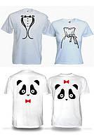 Парные футболки 2шт