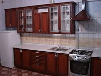 Кухни с фасадами МДФ профиль.