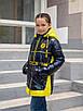 Осенние куртки для девочек от производителя  34-44  синий, фото 3