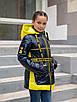 Осенние куртки для девочек от производителя  34-44  синий, фото 2