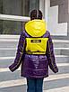 Осенние куртки для девочек от производителя  34-44  синий, фото 4
