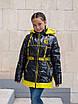 Осенние куртки для девочек от производителя  34-44  синий, фото 5