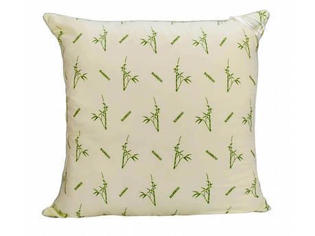 Подушка бамбуковая 70х70 салатовая, фото 2