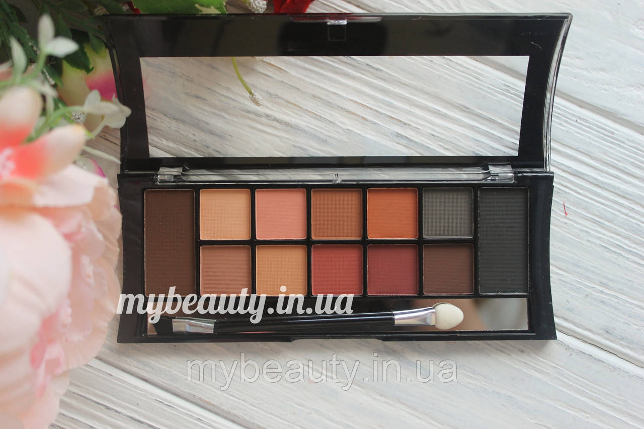 Тени для век+бровей Dodo girl  12 colors palette eyeshadow & eyebrow palette