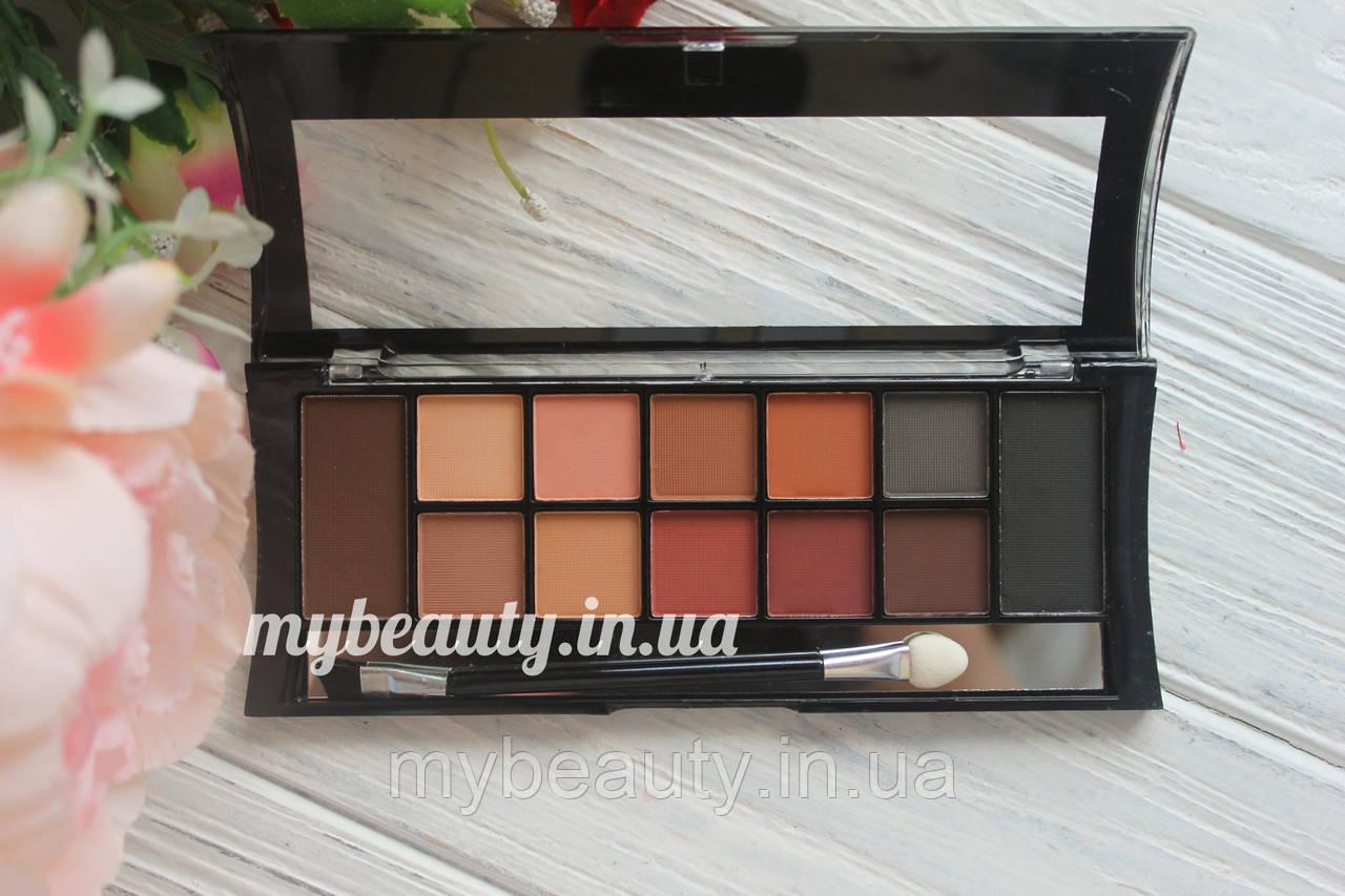 Тіні для повік+брів Dodo girl 12 colors eyeshadow palette & eyebrow palette