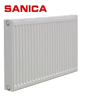 Радиатор стальной панельный SANICA (Турция) т. 22х500