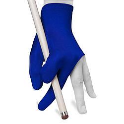 """Перчатка для бильярда """"Partner"""" - синяя безразмерная"""