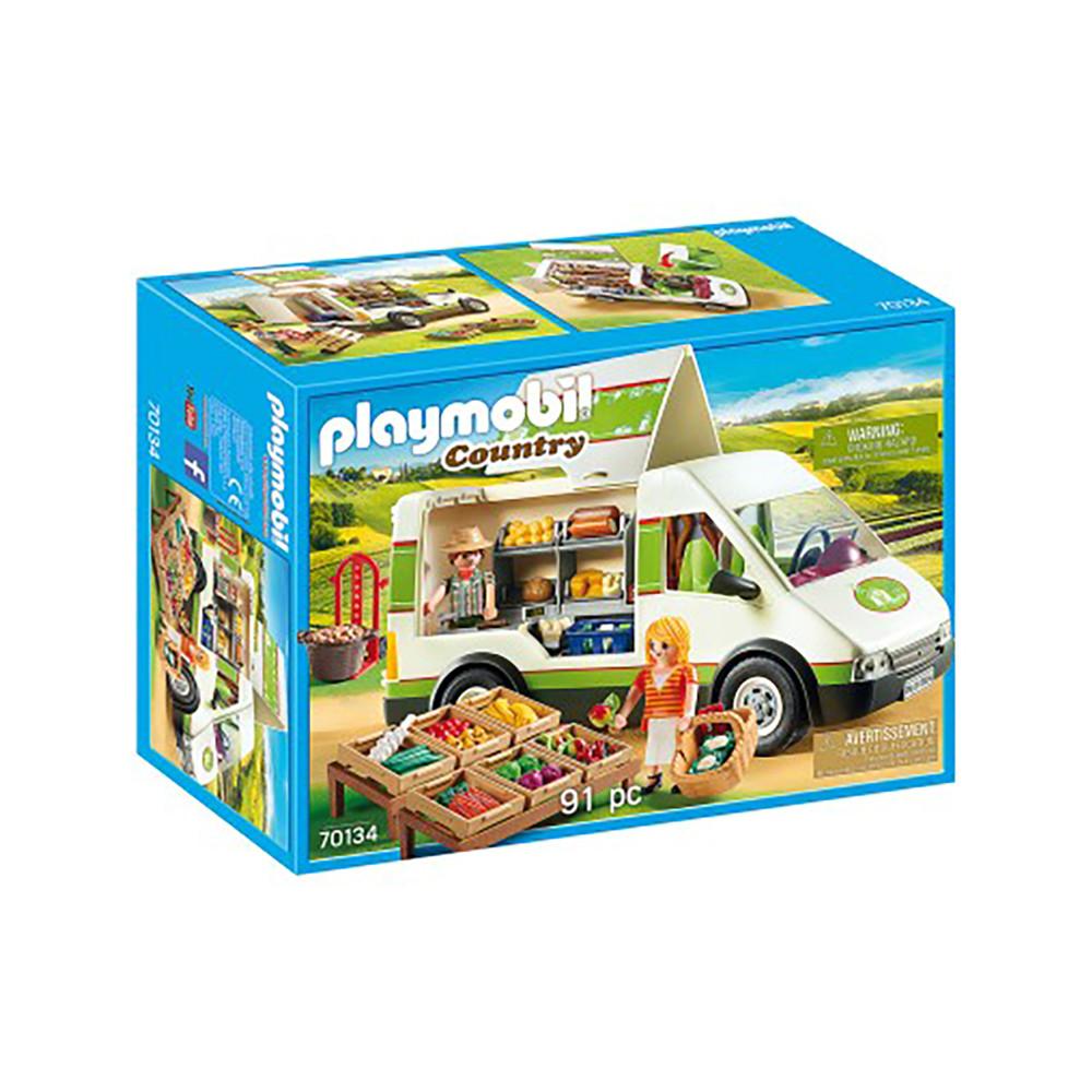 """Игровой набор """"Передвижной фургон с продуктами"""" Playmobil (4008789701343)"""