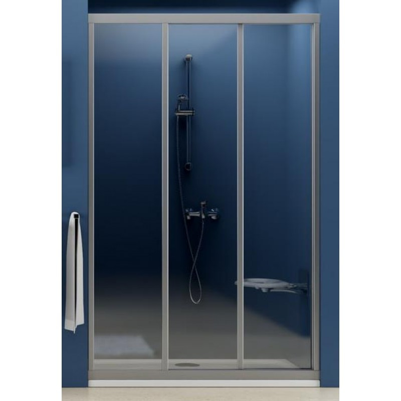 Душевые двери Ravak Душевые двери сатин+grape Ravak Supernova 90 см ASDP3-90 00V70U02ZG