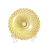 Тарелка OLens Кобальт-золото 16112-7 20 см