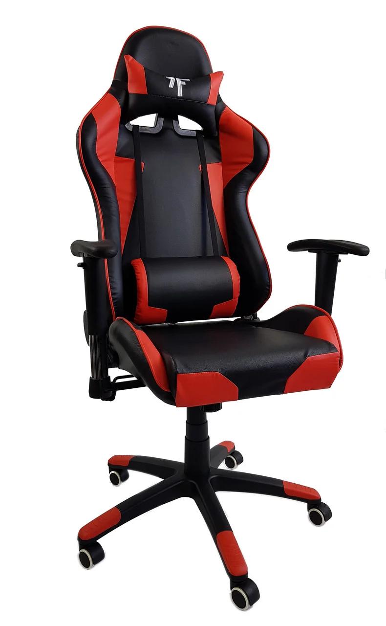 Кресло компьютерное 7F GAMER UT-580K красное