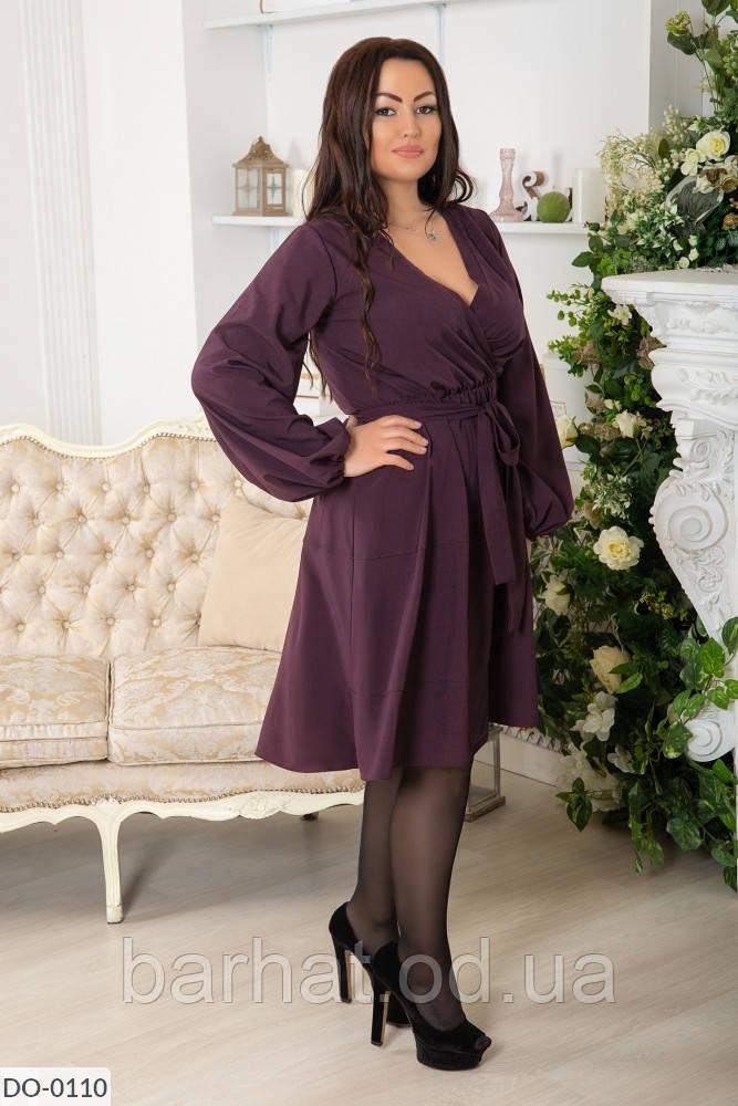 Платье для пышных форм 48-50, 52-54, 56-58 размер