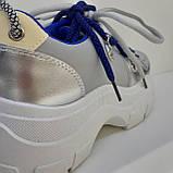 Кроссовки сникерсы серый Erra, фото 6