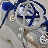Кроссовки сникерсы серый Erra, фото 5