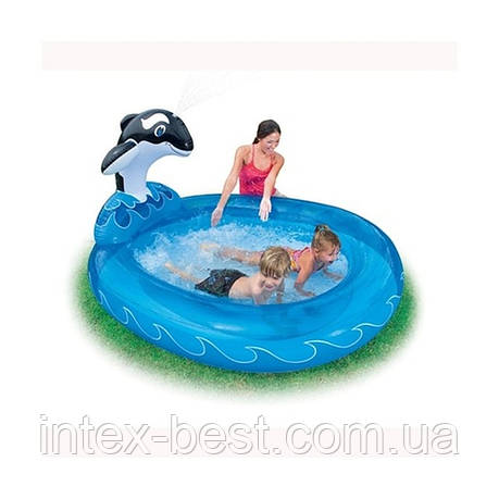"""Детский надувной бассейн """"Дельфин"""" Intex 57436  , фото 2"""