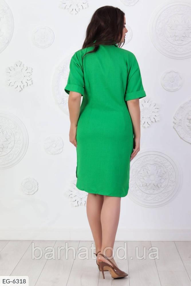 Платье для пышных форм 52, 54, 56 размер