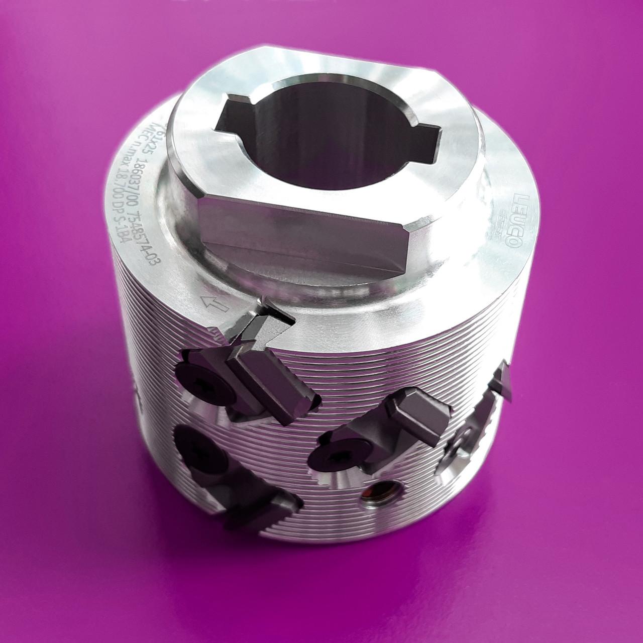 70x43x25, z=2+2 Фуговальна алмазна фреза LEUCO DIAMAX SmartJointer airFace, ліва (Hebrock)