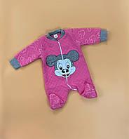 Комбинезон человечек демисезонный для малышей, новорожденных, грудничков, детей