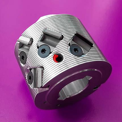 70x43x25, z=2+2 Фуговальна алмазна фреза LEUCO DIAMAX SmartJointer airFace, ліва (Hebrock), фото 2