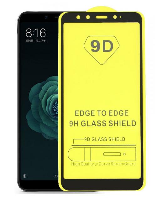 Захисне скло 9D Xiaomi mi 6X / A2 повна проклейка 9H захисне скло ксиоми