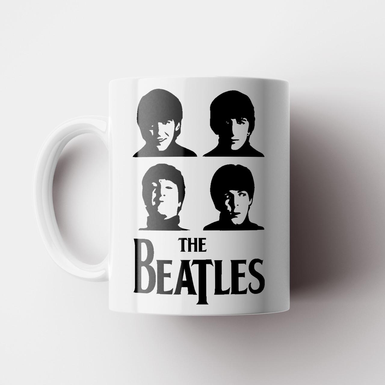 Чашка The Beatles. Битлз. Чашка с фото