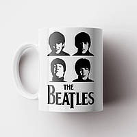 Чашка The Beatles. Битлз. Чашка с фото, фото 1