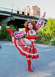 """Спідничка з плетеним поясом """"МарциПані"""" (літо) оранж 146, фото 9"""