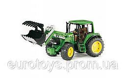 Игрушка Bruder Трактор John Deere 6920 с погрузчиком 1:16 (02052)