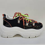 Кроссовки сникерсы черные Erra, фото 3