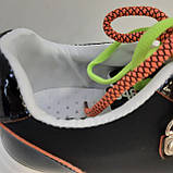 Кроссовки сникерсы черные Erra, фото 4