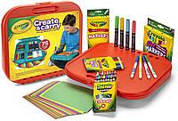 Набор Крайола кейс для рисования 75 предметов Crayola Create 'N Carry Art