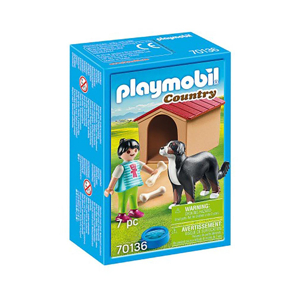 """Игровой набор """"Девушка и собака с будкой"""" Playmobil (4008789701367)"""
