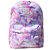Рюкзак молодежный женский Единороги розовый, фото 1