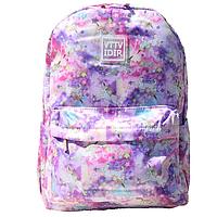 Рюкзак молодіжний жіночий рожевий Єдинороги, фото 1