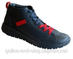 Ботинки мужские чёрные Romika 5304R802