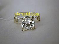Серебреное кольцо со вставкой циркония 925 пробы