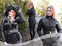 Куртка трансформер пуховик китай  черная