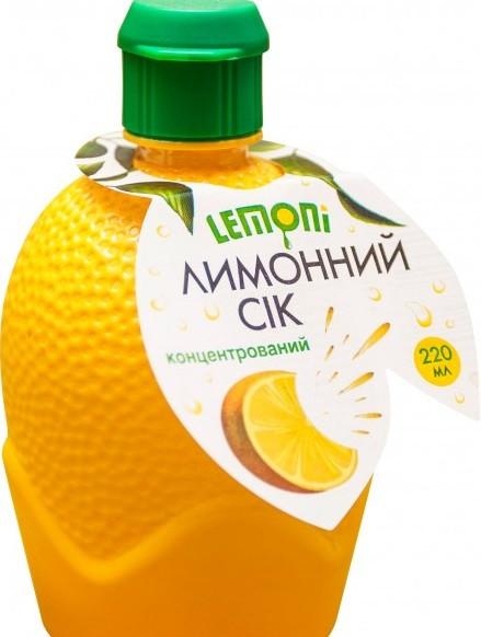 Сок Лимона 200 мл