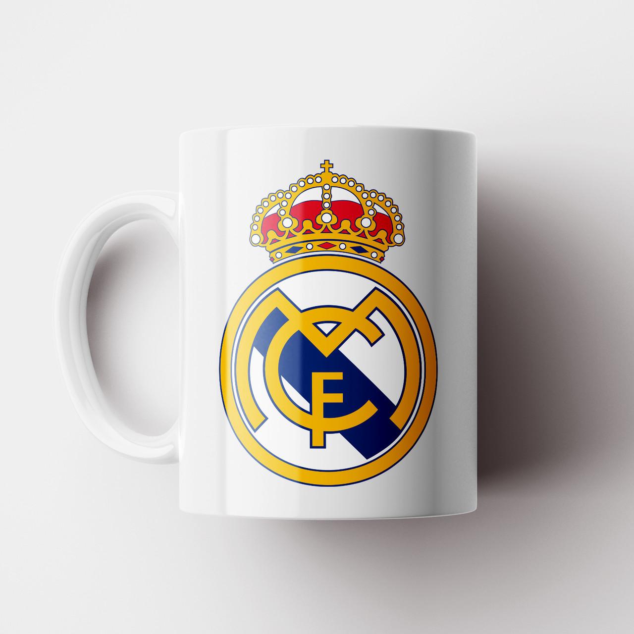 Чашка ФК Реал Мадрид. Real Madrid CF. Футбол. Чашка з фото