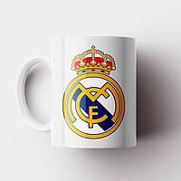 Чашка ФК Реал Мадрид. Real Madrid CF. Футбол. Чашка з фото, фото 1