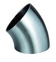 Отвод стальной ГОСТ 17375-83 угол 45* ду 100 (114мм)