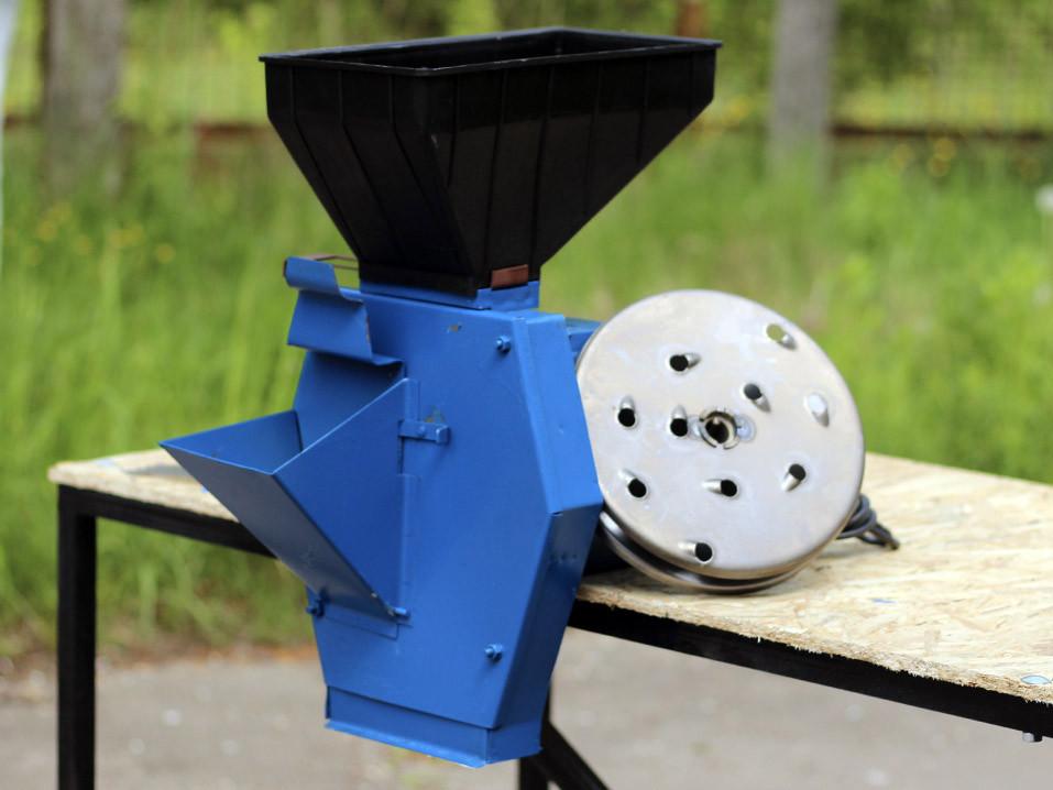 Электро измельчитель для зерна и корнеплодов