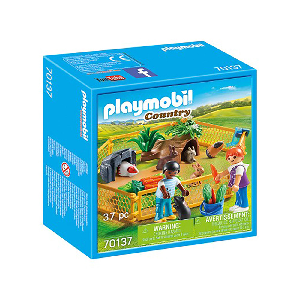 """Игровой набор """"Загон с домашними животными"""" Playmobil (4008789701374)"""