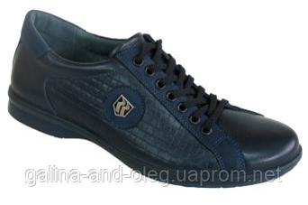 Чоловічі черевики чорні Romika 1941R800