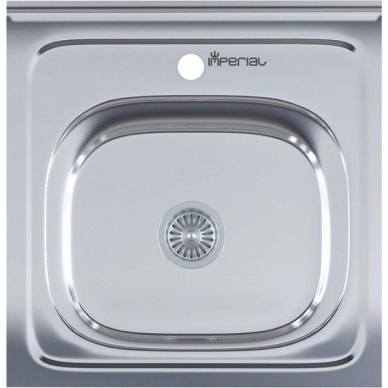 Кухонные мойки Imperial Кухонная мойка из нержавеющей стали Imperial 5050 (0,6) Decor