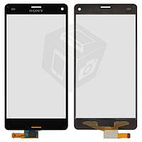 """Сенсорный экран (touchscreen) для Sony Xperia Z3 Compact D5803, 4.6"""", черный, оригинал"""