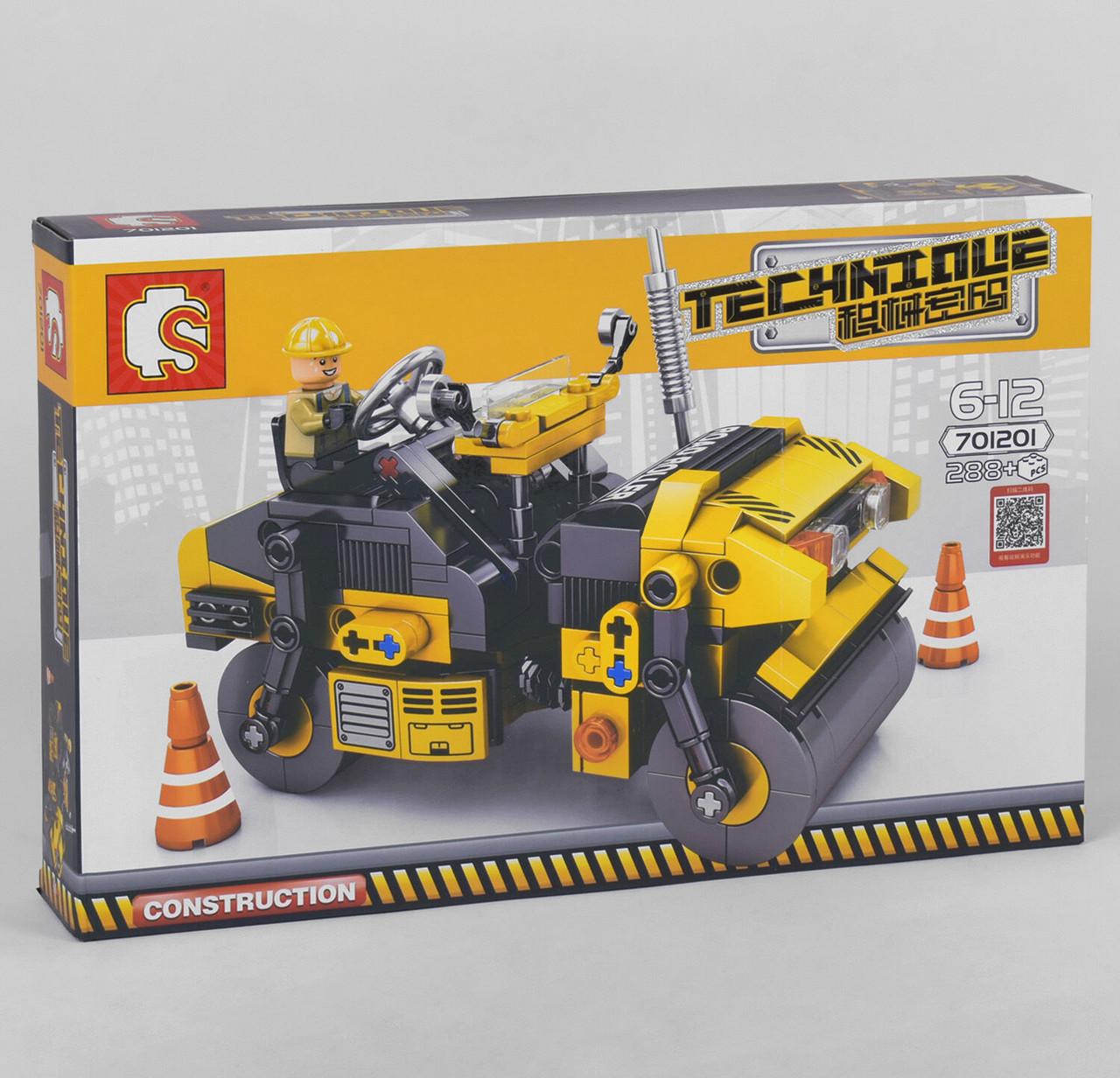 Конструктор 701201 (24/2) 288 деталей, в коробке